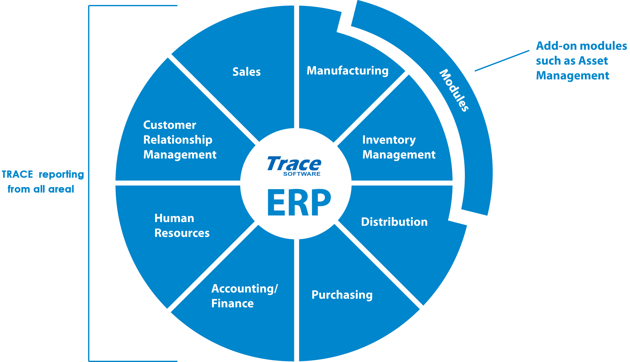 Erp Software Development Trace Providing Erp Services In